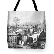 Civil War: Prison, 1864 Tote Bag