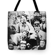 Civil War Volunteers 1861 Tote Bag
