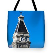 Clarksville Historic Courthouse Tower Tote Bag