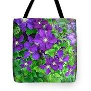 Clematis In Bloom Tote Bag
