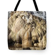 Cleopatra Terrace, Mammoth Hot Springs Tote Bag