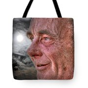 Close-up Profile Robert John K. Tote Bag