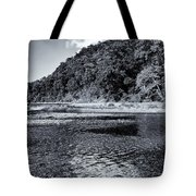 Cloud Over The River Tote Bag