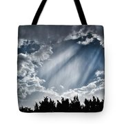Clouds And Sky Tote Bag