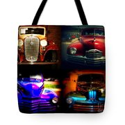 Collector Cars Tote Bag