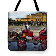 Colonial Buildings In Old Cartagena Colombia Tote Bag by David Smith