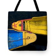 Colorful Boats, Srinagar, Dal Lake Tote Bag
