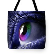 Colorful Eye Tote Bag