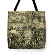Columbus Arrested Tote Bag