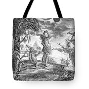Columbus: Jamaica, 1504 Tote Bag