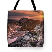 Continental Divide Tote Bag