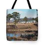 Conversations On The Hill Tote Bag