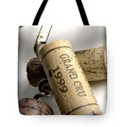Corks Of French Wine Tote Bag