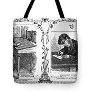 Correct Writing Position Tote Bag