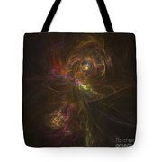 Cosmic Image Of A Colorful Nebula Tote Bag