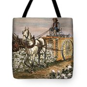 Cotton Harvester, 1886 Tote Bag