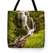 Crater Lake Falls Tote Bag