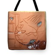 Crazy Pineapple Tote Bag