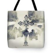 Cross Tote Bag by Joana Kruse