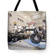 Curiosity Rover In The Testing Facility Tote Bag