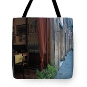 Curtains Billow In The Gentle Tuscan Tote Bag