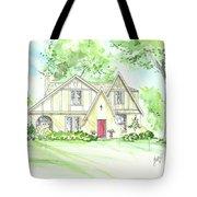 Custom House Rendering Sample Tote Bag