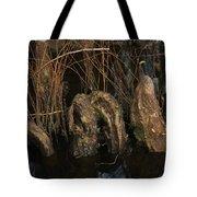 Cypress Knee Monster Tote Bag