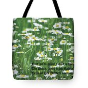 Daisy Fresh Tote Bag
