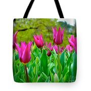 Dancing Tulips Tote Bag