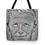 David Beckham In 2009 Tote Bag