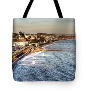 Dawlish Sea Wall Tote Bag