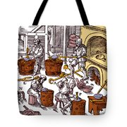 De Re Metallica, Metallurgy Workshop Tote Bag
