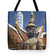Demon Guardian Tote Bag
