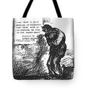 Depression Cartoon, 1932 Tote Bag
