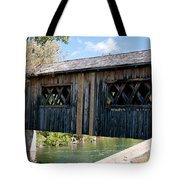 deShutes River Bridge Tote Bag