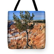 Determined Tree Tote Bag