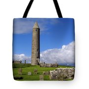 Devenish Monastic Site, Co. Fermanagh Tote Bag