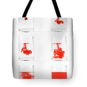 Dissolving Dye Tote Bag
