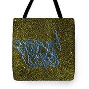 Dna And E. Coli Rna Polymerase Reaction Tote Bag