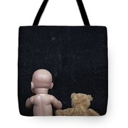 Doll And Bear Tote Bag