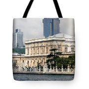 Dolmabahce Palace In Istanbul Tote Bag