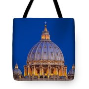 Dome San Pietro Tote Bag by Brian Jannsen