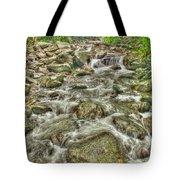 Downhill Rush Tote Bag