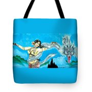 Dragon Dancer Tote Bag