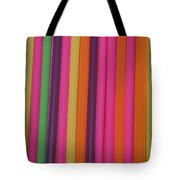 Drinking Straws Tote Bag