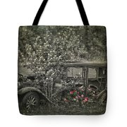 Driven To Find Love  Tote Bag