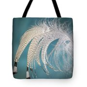 Droopy Feather Tote Bag