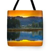 Dry Lagoon Dawn Tote Bag