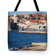 Dubrovnik Old City Architecture Tote Bag