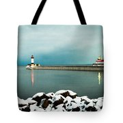 Duluth Harbor Tote Bag